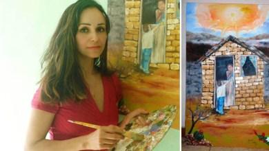Photo of Chapada: Artista plástica radicada em Várzea Nova é premiada em exposição na Noruega
