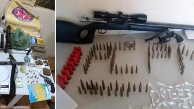 Photo of #Bahia: Fuzil e metralhadoras são encontrados com quadrilha em João Dourado