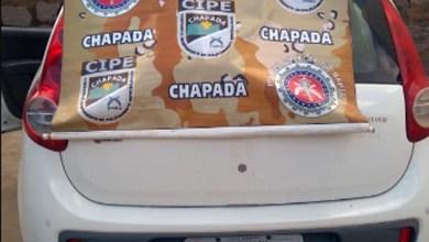 Photo of Chapada: Motorista de carro roubado é detido pela polícia em Iaçu; veículo é apreendido