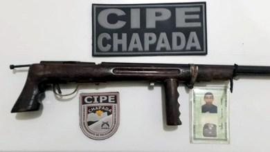 Photo of Chapada: Homem é preso por policiais da Cipe com arma de fogo em Marcionílio Souza