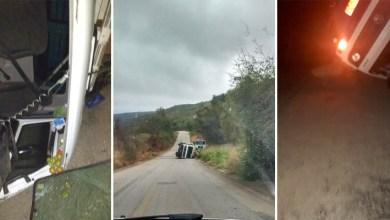 Photo of Chapada: Motorista desvia de animal na pista e vira caminhão entre Ituaçu e Barra da Estiva