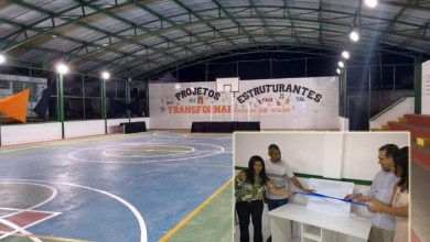 Photo of Escola estadual de Caldeirão Grande recebe ampliação com novo auditório e cobertura da quadra poliesportiva