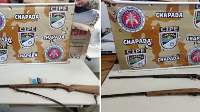 Photo of Chapada: Policiais da Cipe apreendem armas de fogo e drogas durante ações em Ipupiara