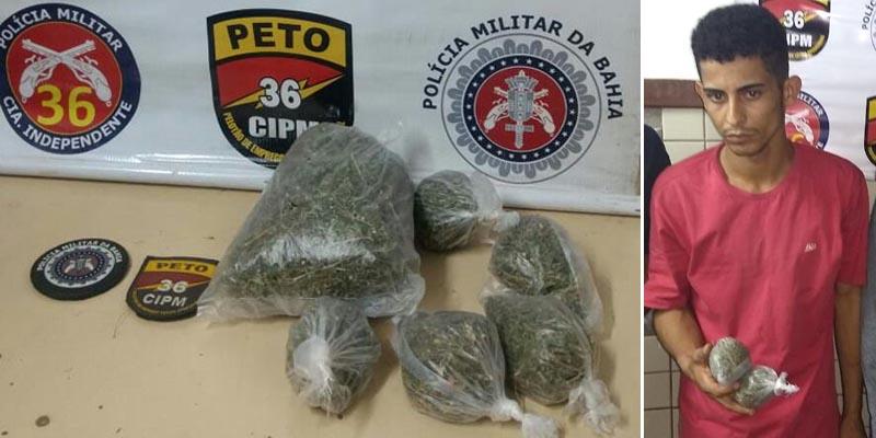 #Bahia: Polícia prende líder de tráfico de drogas em Salvador durante ação na RMS