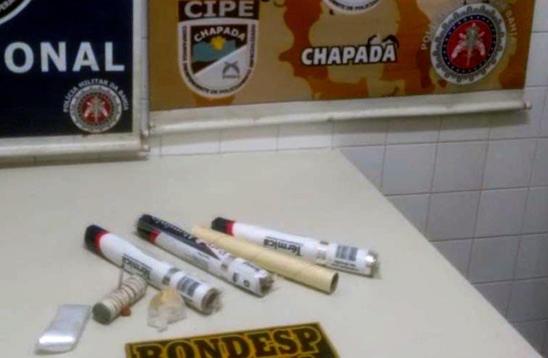 Chapada: Traficante de drogas é preso em operação policial realizada em Itaberaba