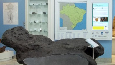 Photo of #Salvador: Museu Geológico da Bahia abriga réplica do meteorito Bendegó