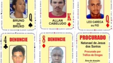 Photo of #Bahia: Baralho do Crime da SSP é atualizado e recebe cinco novas cartas