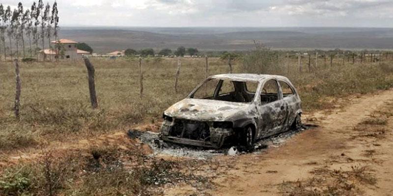 Chapada: Corpo de jovem é encontrado carbonizado dentro de veículo em Morro do Chapéu