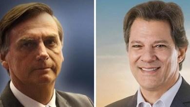 Photo of Ibope aponta Bolsonaro com 32% das intenções de voto; Haddad tem 23%; confira aqui