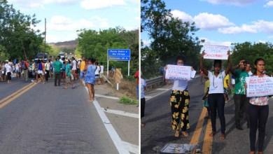 Photo of Chapada: Manifestantes fecham a BR-242 em favor do Rio Utinga pela sétima vez em dois anos