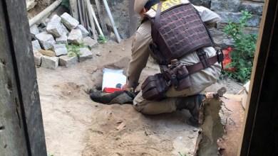 Photo of Itaberaba: Polícia encontra maconha enterrada em quintal de casa abandonada