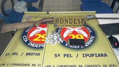 Photo of Chapada: Operação policial conjunta em Brotas e Ipupiara apreende drogas e arma de fogo