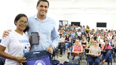 Photo of Chapada: Agentes de Saúde do município de Itaberaba recebem kits com fardamento e tablets
