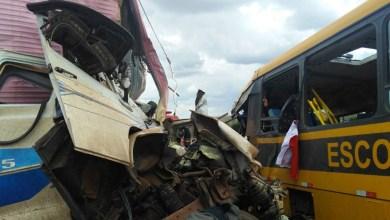 Photo of #Bahia: Acidente na BR-116, em Santa Bárbara, deixa 33 vítimas; foram confirmados seis mortos