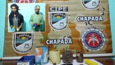Photo of Chapada: Dupla é presa pela Cipe com maconha durante ação no município de Mucugê