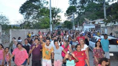 Photo of Chapada: Moradores do município de Palmeiras tomam as ruas em manifestação contra a Embasa