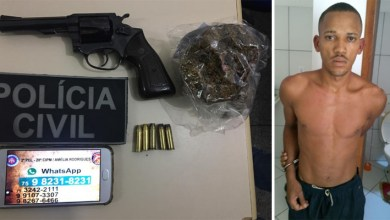 Photo of Chapada: Policiais capturam homem que matou a mulher e divulgou vídeo do crime nas redes