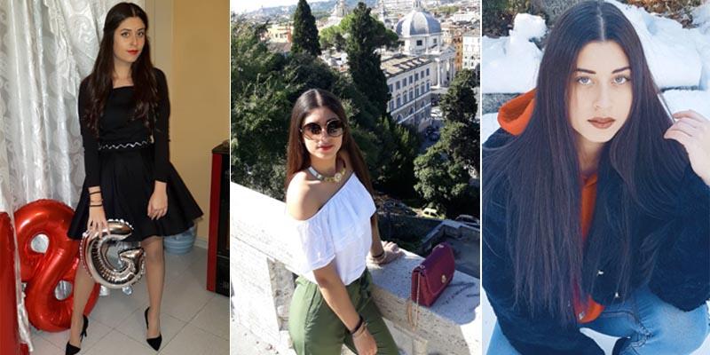 Itaberaba: Jovem Gabriella Silva Minola completa 18 anos e quer estudar moda na Itália