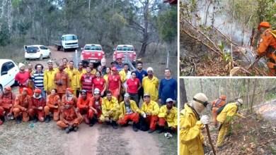 Photo of Chapada: Incêndio florestal em Utinga é controlado após quatro dias de intenso combate
