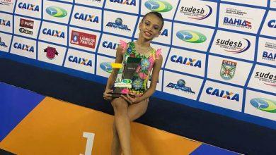 Photo of Atleta baiana é campeã do Brasileiro de Ginástica Rítmica pré-infantil