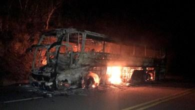 Photo of Chapada: Ônibus pega fogo na região de Morro do Chapéu e deixa passageiros apreensivos