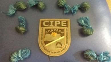 Photo of Chapada: Policiais da Cipe apreendem drogas durante operação 'Itaberaba em Paz'