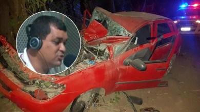 Photo of Chapada: Vereador de Saúde e seu motorista morrem em acidente automobilístico