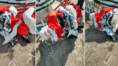 Photo of Chapada: Vândalos destroem parte de decoração natalina de praça pública em Barra da Estiva