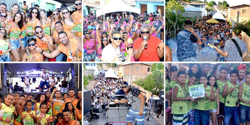 Chapada: Atração do Carnaval de Palmeiras, bloco 'Galera do Mandaca' divulga programação para 2019