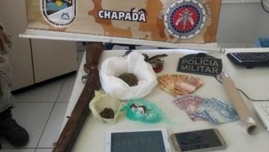 Photo of Chapada: Quadrilha é presa em Andaraí com arma de fogo, drogas e produtos roubados