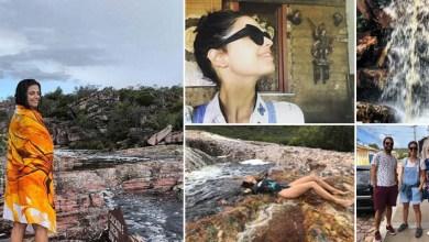 Photo of #Fotos: Cantora e atriz Emanuelle Araújo declara amor pela Bahia em passagem pela Chapada Diamantina