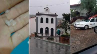 Photo of Chapada: Chuva de granizo e forte ventania causam estragos em Palmeiras no final de semana