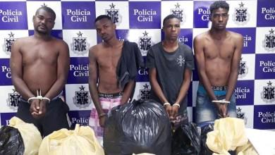 Photo of #Bahia: Cinquenta quilos de drogas são apreendidos durante operação em Feira de Santana