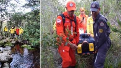 Photo of Chapada: Corpo de Bombeiros resgata homem que se machucou quando fazia trilha na região de Lençóis