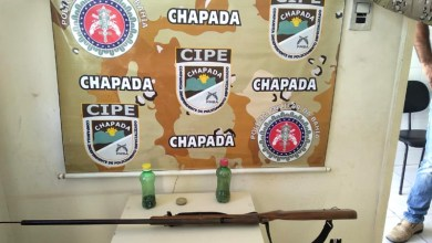 Photo of #Bahia: Policiais da Cipe apreendem arma de fogo no município de Milagres