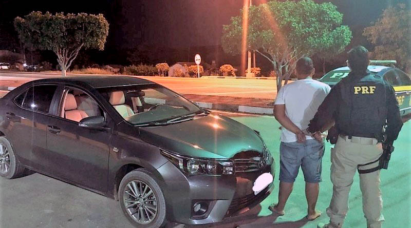 Chapada: Veículo com ocorrência de roubo é recuperado pela PRF na região de Seabra