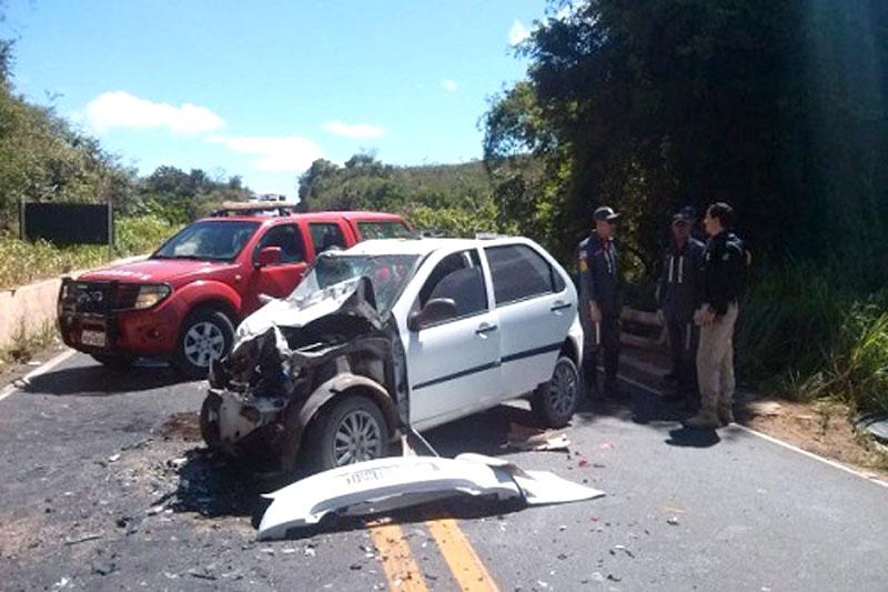 Chapada: Acidente grave na região do Morro do Pai Inácio deixa um morto e três feridos