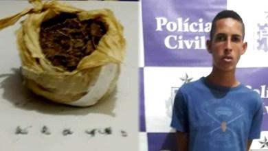 Photo of #Bahia: Polícia Civil prende homem com cocaína e maconha no município de Juazeiro