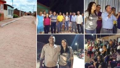 Photo of Chapada: Prefeita de Nova Redenção entrega à comunidade obra de nova rua pavimentada