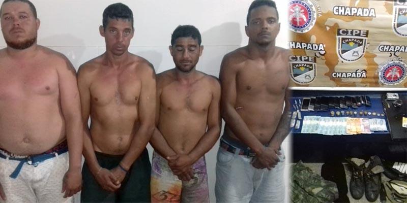 Chapada: Polícia desmonta e prende quadrilha que atuava no tráfico de drogas em Abaíra