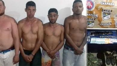 Photo of Chapada: Polícia desmonta e prende quadrilha que atuava no tráfico de drogas em Abaíra