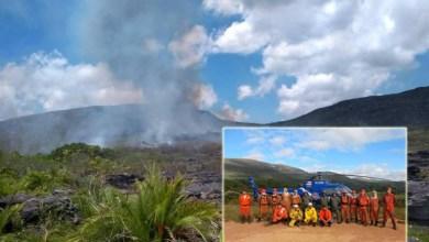Photo of Chapada: Brigadistas conseguem conter incêndio em Ituaçu depois de cinco dias de combate