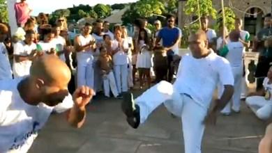 Photo of Chapada: Prefeito de Lençóis joga capoeira durante festa de Senhor dos Passos; veja o vídeo