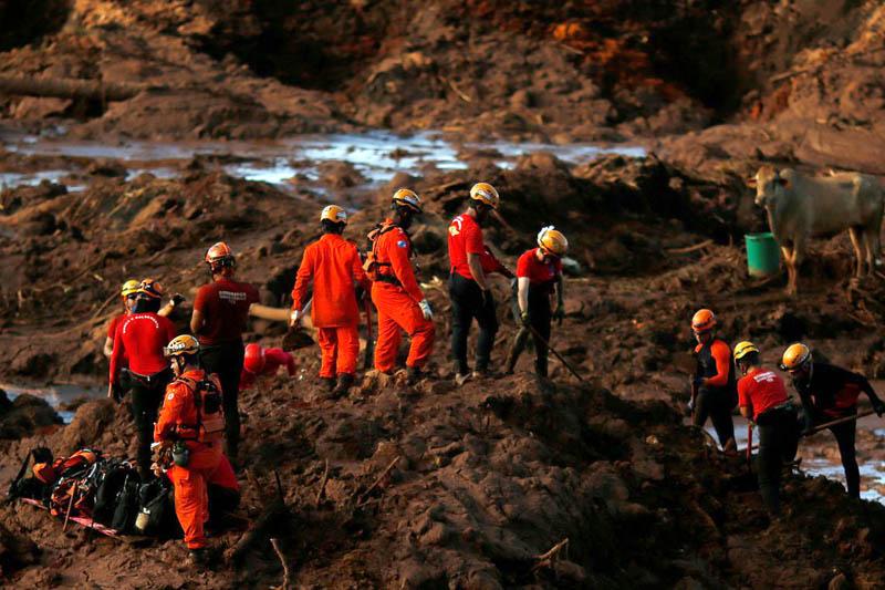 #Brasil: Bombeiros localizam mais dois corpos da tragédia em Brumadinho; saiba mais