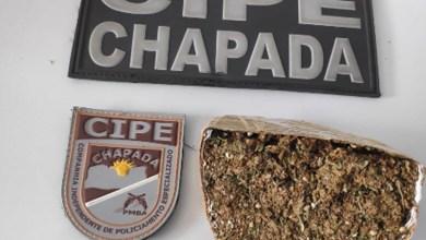 Photo of Chapada: Policiais militares da Cipe apreendem sacola com maconha no município de Iraquara