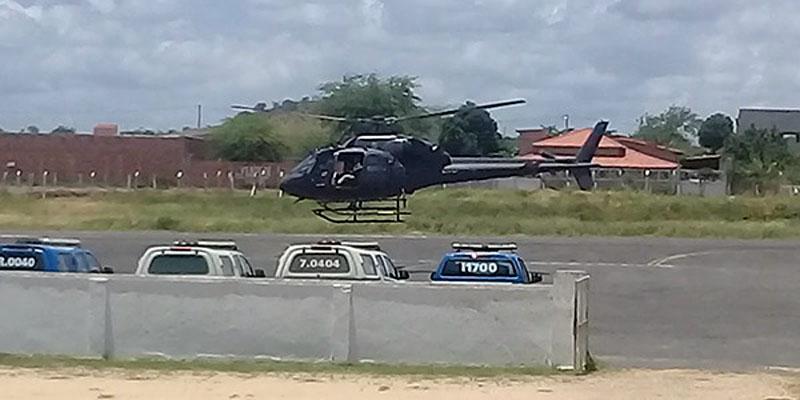 Chapada: Operação da Polícia Federal mobiliza guarnições em aeroporto de Jacobina