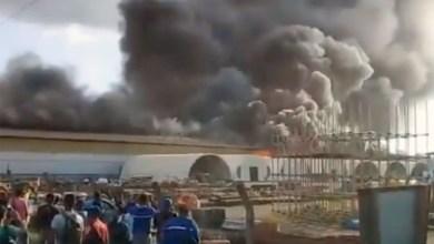 Photo of #Brasil: Incêndio destrói galpão do Consórcio Construtor de Belo Monte no Pará; veja vídeo