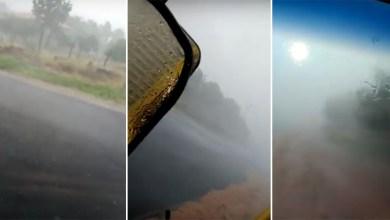 Photo of #Bahia: Distrito do município de Livramento de Nossa Senhora registra chuva de granizo; veja vídeo