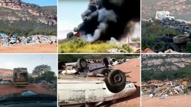 Photo of Chapada: Moradores de Mucugê denunciam queimadas em lixão do município; veja vídeos