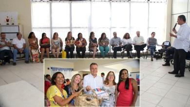 Photo of Chapada: Rui Costa conhece demandas da rede estadual de ensino em Jacobina durante encontro com profissionais